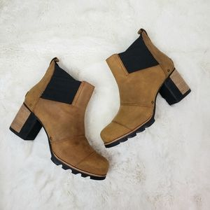 Sorel Addington Chelsea boots Autumn Bronze